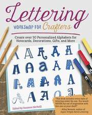 Lettering Workshop for Crafters