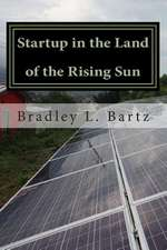 Startup in the Land of the Rising Sun
