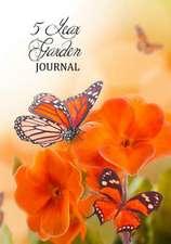 5 Year Garden Journal