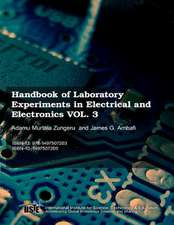 Handbook of Laboratory Experiments in Electrical and Electronics Vol.3