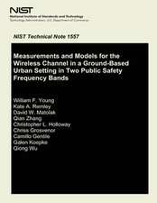 Measurements and Models for the Wireless Channel in a Ground- Based Urban Setting in Two Public Safety Frequency Bands