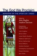 The God We Proclaim