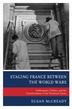 STAGING FRANCE BETWEEN THE WORPB