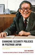 Changing Security Policies in Postwar Japan