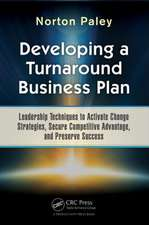 Developing a Turnaround Business Plan