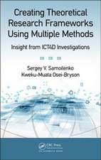 Creating Theoretical Research Frameworks using Multiple Methods