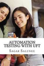 Automation Testing with Uft