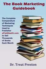 The Book Marketing Guidebook