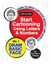 Start Cartooning Using Letters & Numbers