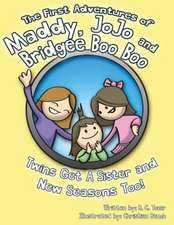 The First Adventures of Maddy, Jojo and Bridgee Boo Boo