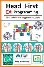 Head First C# Programming.