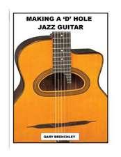 Making a 'd' Hole Jazz Guitar
