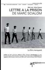 Lettre a la Prison de Marc Scialom