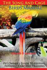 The Song and Cage Birds Manual