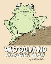Woodland Coloring Book
