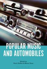 Popular Music and Automobiles