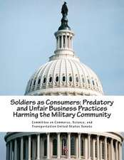 Soldiers as Consumers