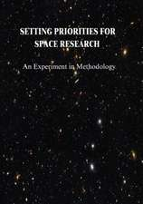 Setting Priorities for Space Research