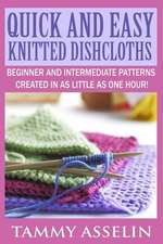 Quick and Easy Knitted Dishcloths