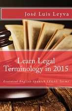 Learn Legal Terminology in 2015