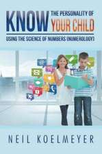 Know the Personality of Your Child