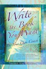 Write the Book You Want