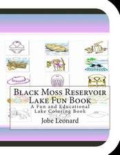 Black Moss Reservoir Lake Fun Book