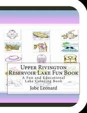 Upper Rivington Reservoir Lake Fun Book