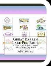 Great Barren Lake Fun Book