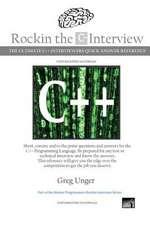 Rockin the C++ Interview