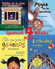 4 Spanish Books for Kids - 4 Libros Para Ninos