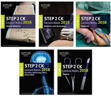 USMLE Step 2 Ck Lecture Notes 2018: 5-Book Set