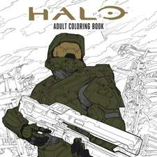Halo Coloring Book: Based off the game Halo from Microsoft and 343