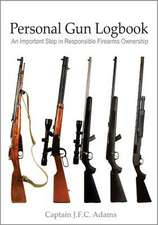 Personal Gun Logbook