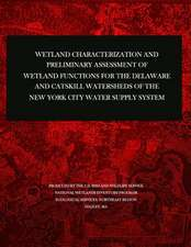 Wetland Characterization and Preliminary Assessment of Wetland Functions for the Delaware and Catskill Watersheds of the New York City Water Supply Sy