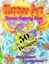 Tattoo Art Tattoo Coloring Book
