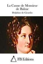 La Canne de Monsieur de Balzac