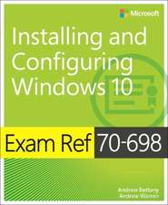 Exam Ref 70-698 Configuring Windows