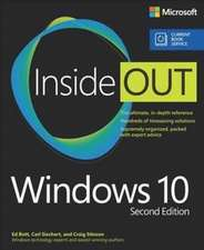 Windows 10 Inside Out