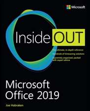 Microsoft Office 2019 Inside Out