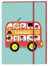 London Bus Notebook:  Over 250 Stickers!