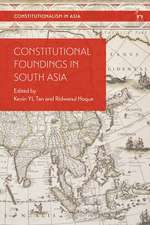 Constitutional Foundings in South Asia