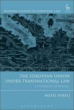 The European Union under Transnational Law: A Pluralist Appraisal