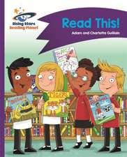 Reading Planet - Read This! - Purple: Comet Street Kids