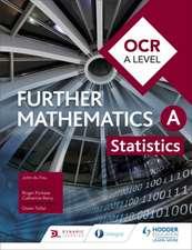 OCR A Level Further Mathematics Statistics