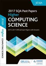 Higher Computing Science 2017-18 SQA Past Papers with Answers