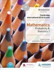Cambr. Internat. AS & A Level Math/Probability Statistics 1