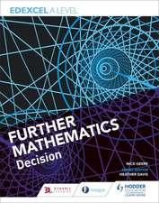 Edexcel A Level Further Mathematics Decision