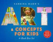 Sabrina Hahn's Art & Concepts for Kids 4-Book Box Set