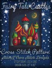 Fairy Tale Castles Cross Stitch Pattern